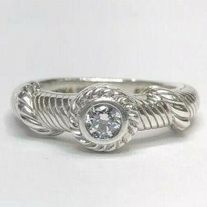 Judith Ripka Silver .925 Band Ring